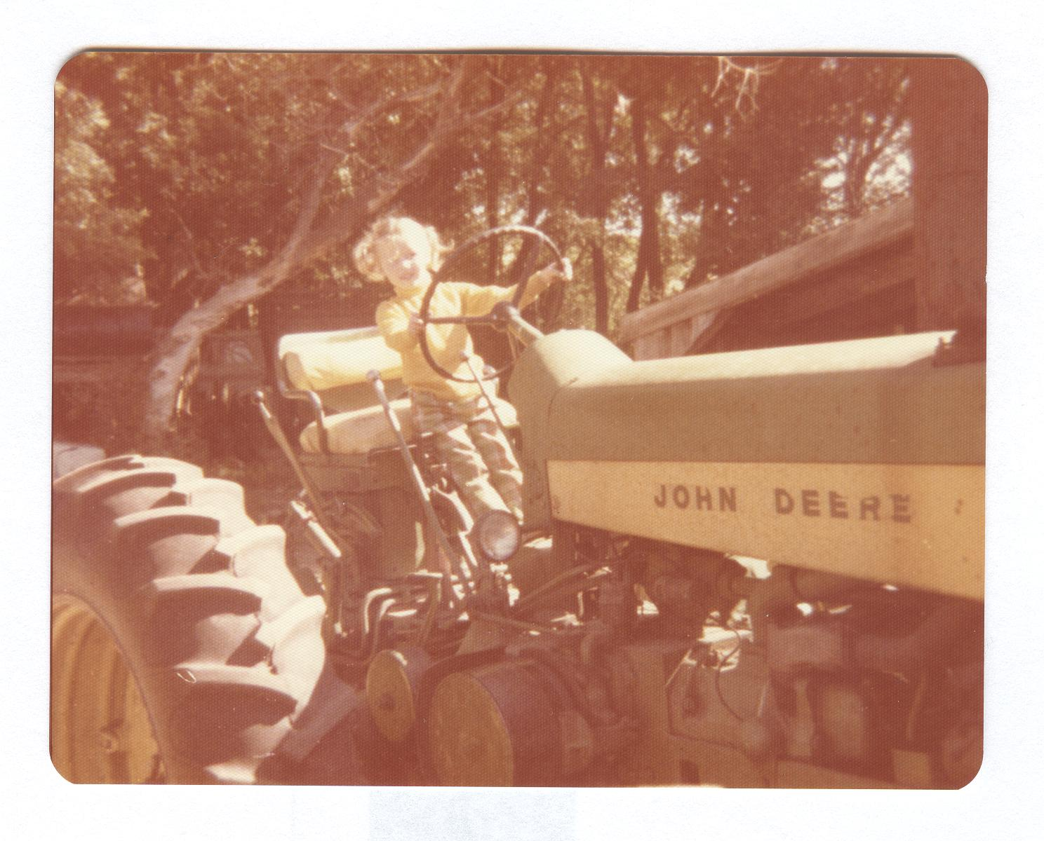 JC on Tractor 002