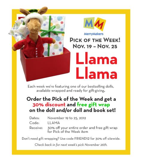 PickoftheWeek_Llama_for111912forBlog
